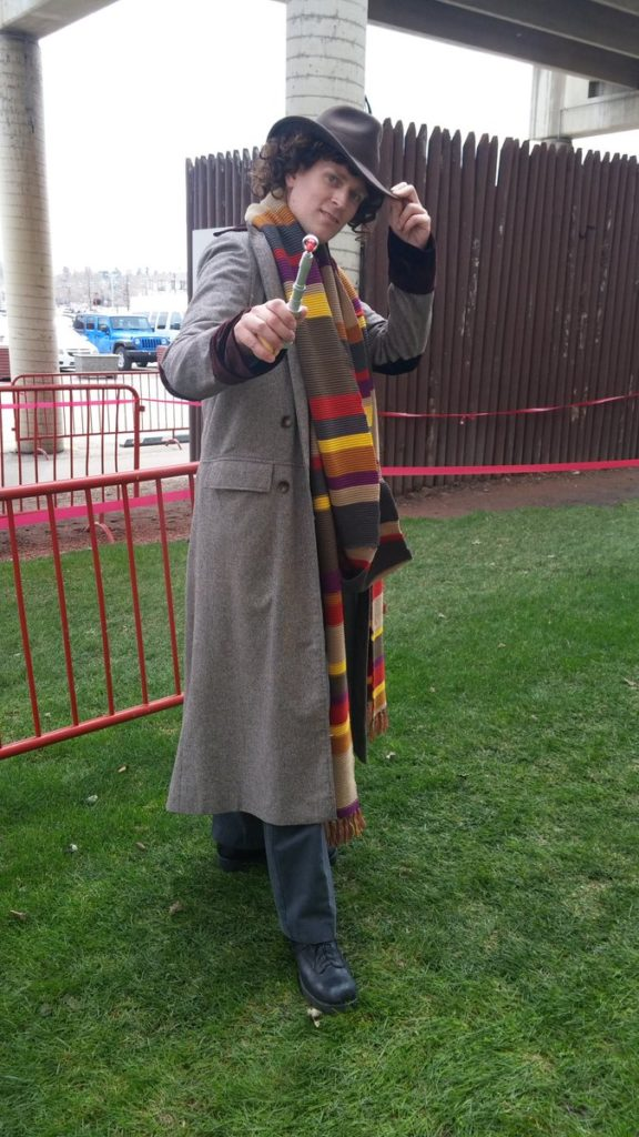 The Fourth Doctor Calgary Expo © Jason Chisholm for Blogtor Who