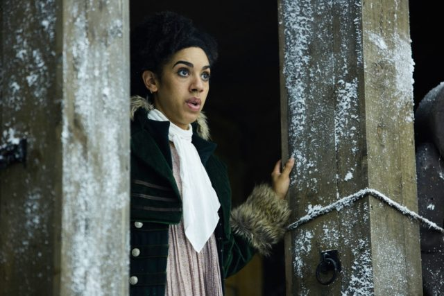Doctor Who S10 - TX: 29/04/2017 - Episode: Thin Ice (No. 3) - Picture Shows: Bill (PEARL MACKIE) - (C) BBC - Photographer: Simon Ridgway