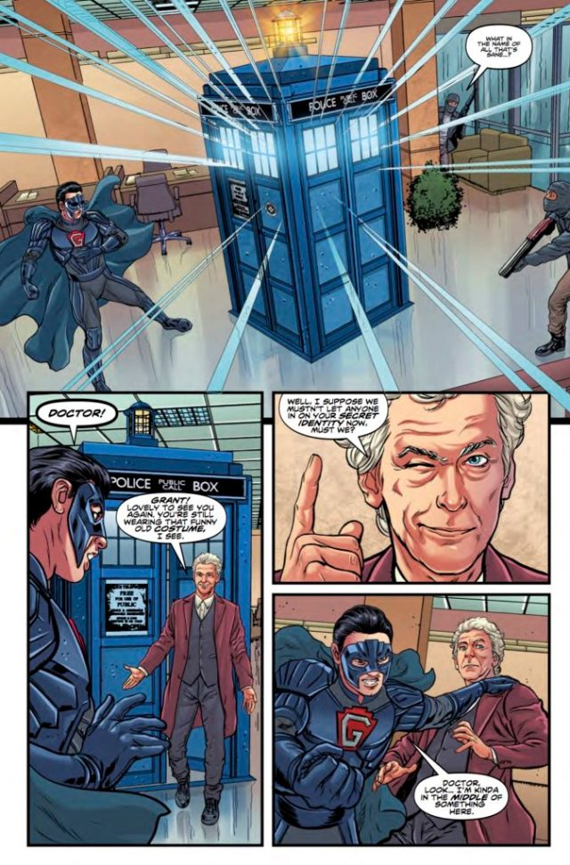 TITAN COMICS - DOCTOR WHO: GHOST STORIES #1 (OF 4) PREVIEW 3