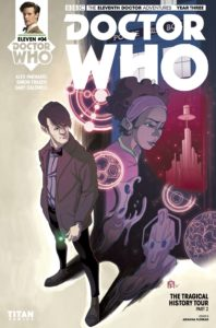 TITAN COMICS - DOCTOR WHO: ELEVENTH DOCTOR YEAR 3 #4 - COVER D - By Arianna Florean