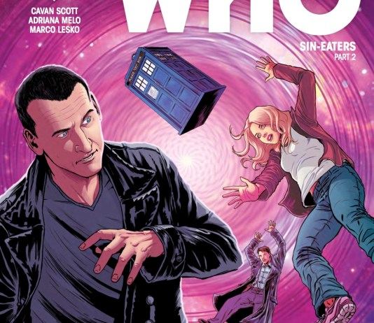 TITAN COMICS - DOCTOR WHO: NINTH DOCTOR #12 COVER A - CRIS BOLSON & MARCO LESKO