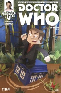 TITAN COMICS - DOCTOR WHO: NINTH DOCTOR #12 COVER C - LINKED SET BY RYAN HALL