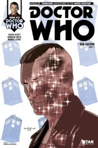 TITAN COMICS - DOCTOR WHO: NINTH DOCTOR #12 COVER D - PASQUALE QUALANO