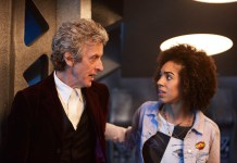 Doctor Who S10 - TX: 15/04/2017 - The Pilot - Picture Shows: Doctor Who (PETER CAPALDI), Bill (PEARL MACKIE) - (C) BBC - Photographer: Simon Ridgway