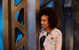 Doctor Who S10 The Pilot - Picture Shows: Bill (PEARL MACKIE) - (C) BBC - Photographer: Simon Ridgway