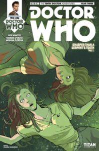 TITAN COMICS - DOCTOR WHO: THE TENTH DOCTOR YEAR THREE #4 COVER D: IOLANDA ZANFARDINO