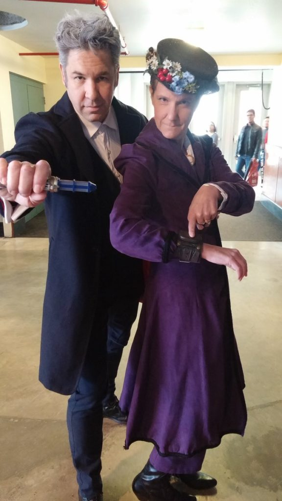 The Doctor and Missy Cosplay Calgary Expo © Jason Chisholm for Blogtor Who