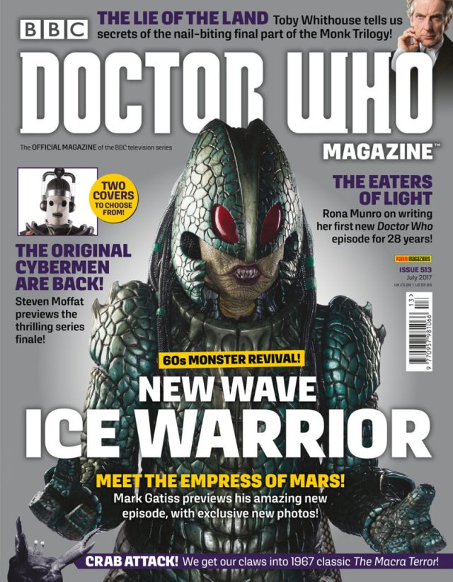 Doctor Who Magazine 513 Cover A