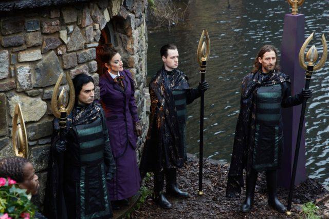 Doctor Who S10 - Extremis - Picture Shows: Missy (MICHELLE GOMEZ) - (C) BBC/BBC Worldwide - Photographer: Simon Ridgway