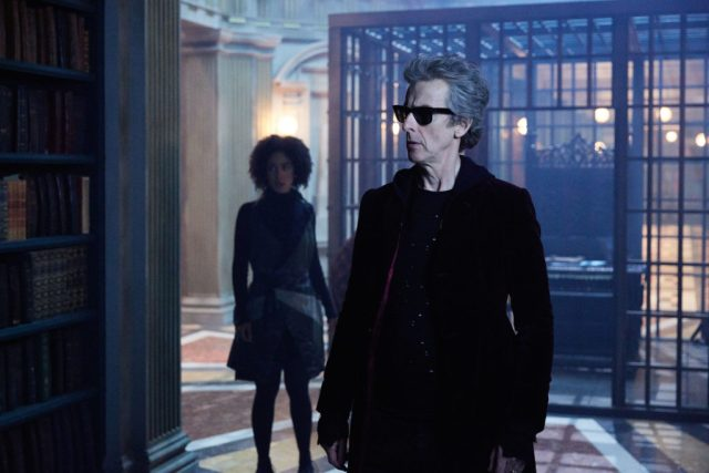 Doctor Who S10 - TX: 20/05/2017 - Episode: Extremis (No. 6) - Bill (PEARL MACKIE), The Doctor (PETER CAPALDI) - (C) BBC/BBC Worldwide - Photographer: Simon Ridgway