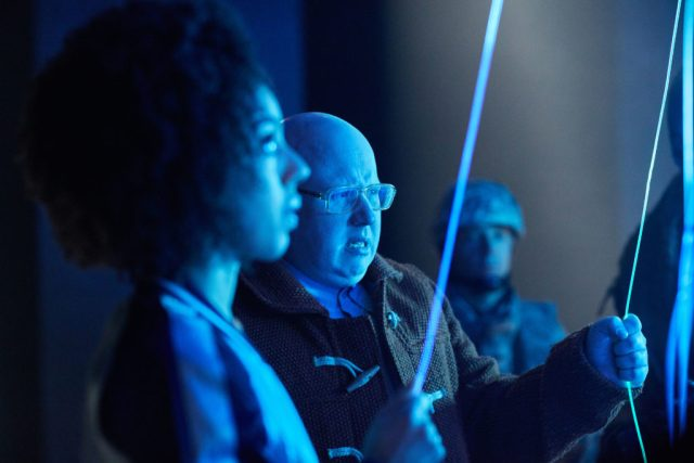 Doctor Who S10 - TX: 27/05/2017 - Episode: The Pyramid At The end Of The World (No. 7) Bill (PEARL MACKIE), Nardole (MATT LUCAS) - (C) BBC/BBC Worldwide - Photographer: Simon Ridgway