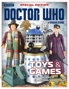 DOCTOR WHO MAGAZINE SPECIAL EDITION 46: TOYS & GAMES © PANINI