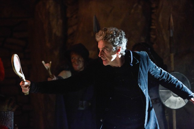 Doctor Who S10 - The Eaters of Light (No. 10) - The Doctor (PETER CAPALDI) - (C) BBC/BBC Worldwide - Photographer: Simon Ridgway
