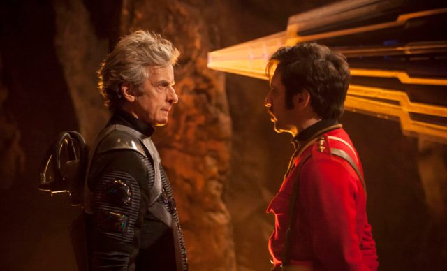 Doctor Who S10 - Empress of Mars (No. 9) - The Doctor (PETER CAPALDI), Catchlove (FERDINAND KINGSLEY) - (C) BBC/BBC Worldwide - Photographer: Jon Hall