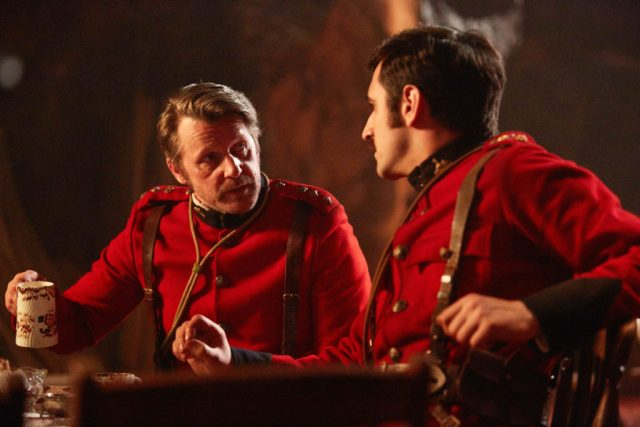 Doctor Who S10 - Empress of Mars (No. 9) - Godsacre (ANTHONY CALF), Catchlove (FERDINAND KINGSLEY) - (C) BBC/BBC Worldwide - Photographer: Simon Ridgway