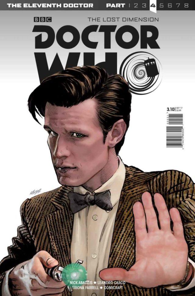 TITAN COMICS ELEVENTH DOCTOR #3.10 Cover A: Klebs Jr