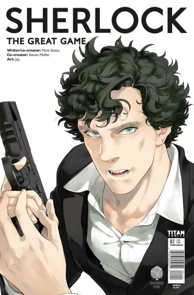 TITAN COMICS - SHERLOCK THE GREAT GAME#2 - Cover A: Jay