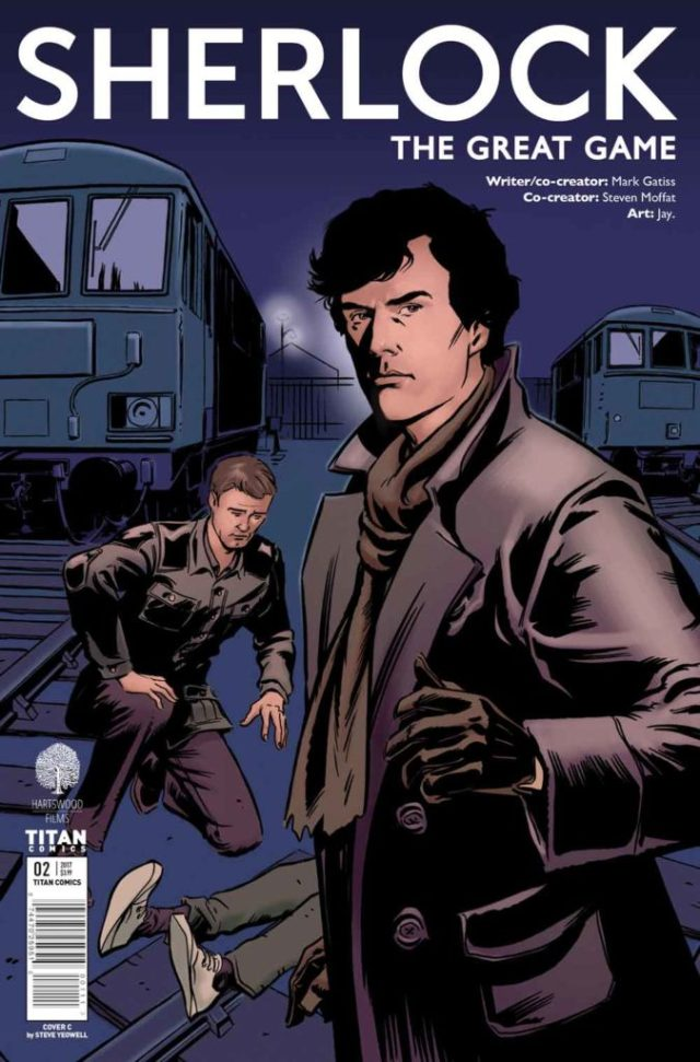 TITAN COMICS - SHERLOCK THE GREAT GAME#2 - Cover C: Steve Yeowell