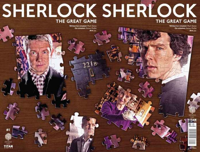TITAN COMICS - SHERLOCK THE GREAT GAME#2 - Cover B: Will Brooks Wraparound Cover