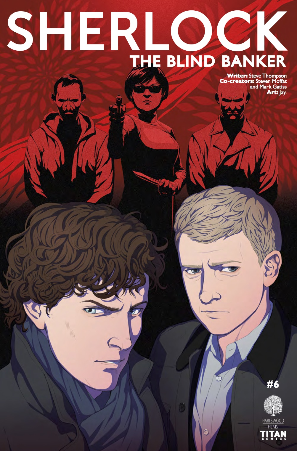 SHERLOCK: THE BLIND BANKER #6COVER A COVER A BY DOUBLELEAF