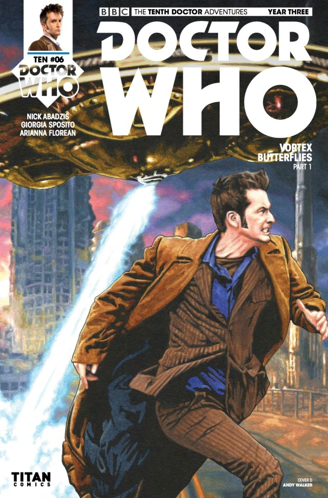 DOCTOR WHO: THE TENTH DOCTOR YEAR 3 #6 - Cover D: Andy Walker
