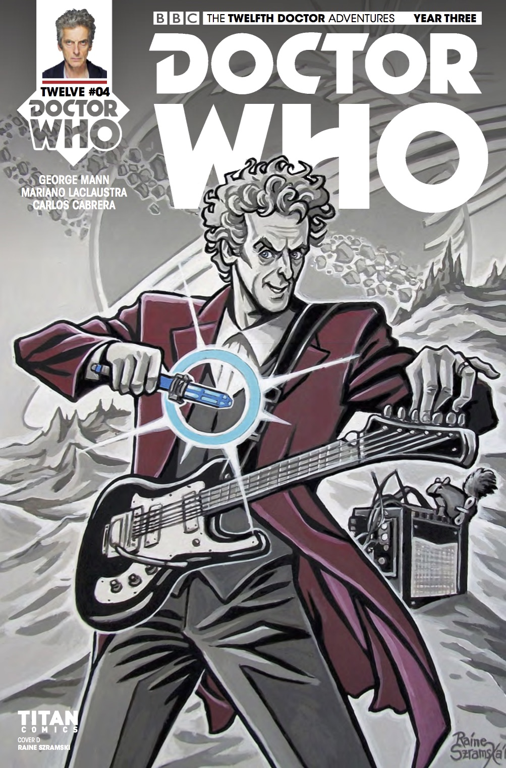 TITAN COMICS - DOCTOR WHO: TWELFTH DOCTOR YEAR 3 #4​ - Cover D: Raine Szramski