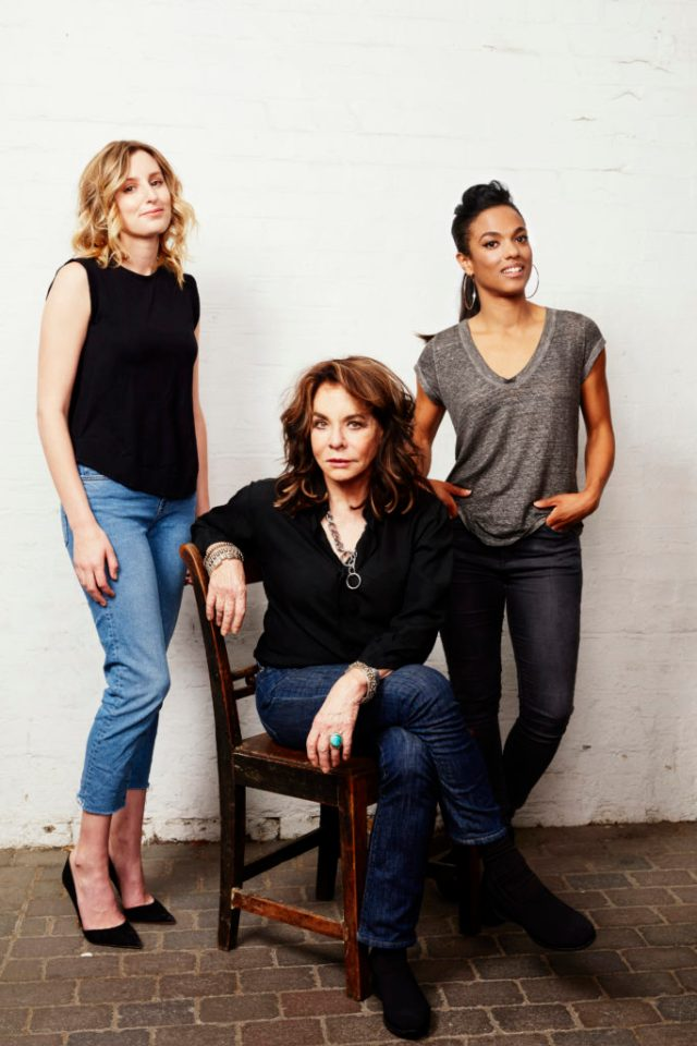 APOLOGIA Laura Carmichael, Stockard Channing and Freema Agyeman CREDIT - SIMON TURTLE