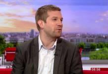 BBC Breakfast - 12th Doctor with DWM Editor, Tom Spilsbury