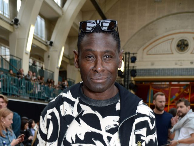 David Harewood - Vivienne Westwood show - Photo by Richard Young