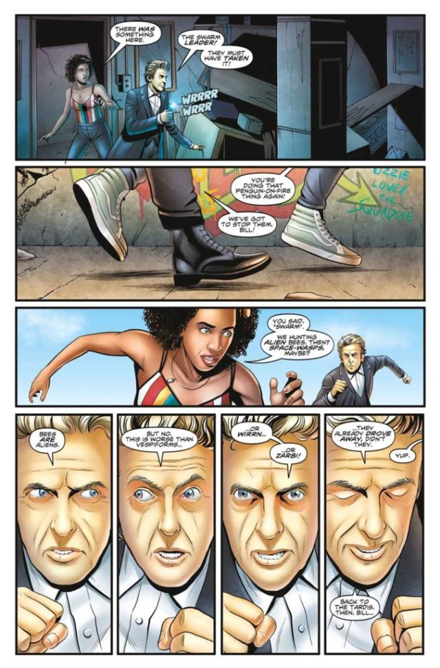 TITAN COMICS DOCTOR WHO SDCC CONVENTION SPECIAL