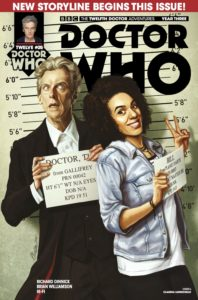 TITAN COMICS - DOCTOR WHO 12TH YEAR THREE #5 - COVER A: CLAUDIA IANNICELLO