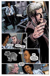 TITAN COMICS - DOCTOR WHO 12TH YEAR THREE #5