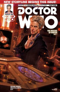 TITAN COMICS - DOCTOR WHO 12TH YEAR THREE #5 - COVER B​: PHOTO BY WILL​ BROOKS