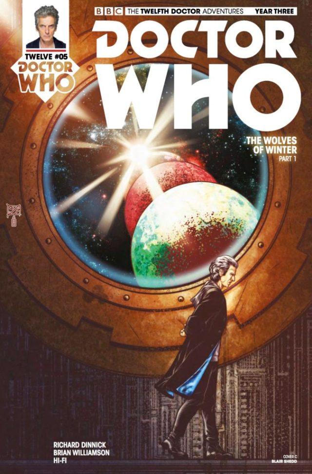 TITAN COMICS - DOCTOR WHO 12TH YEAR THREE #5 - COVER C: BLAIR SHEDD