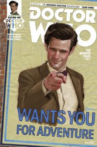 TITAN COMICS - DOCTOR WHO: ELEVENTH DOCTOR #3.7 COVER B: COVER A: SIMON MYERS