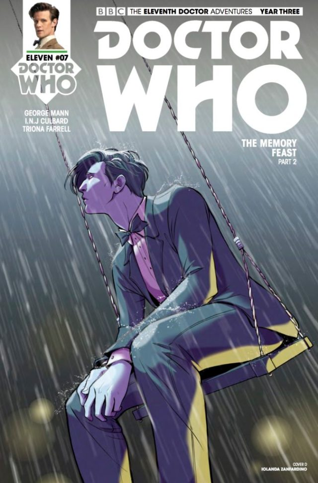 TITAN COMICS - DOCTOR WHO: ELEVENTH DOCTOR #3.7 COVER D: ​IOLANDA ZANFARDINO