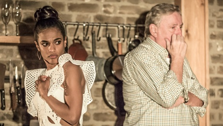 Apologia - Freema Agyeman, Desmond Baritt, - Photo Credit - Marc Brenner