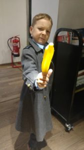 Cooper Berryman (Tiny Timelord) as Captain Jack