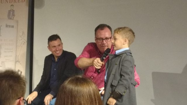 James Goss, Russell T Davies and Cooper Berryman