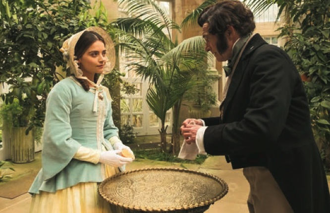 Victoria S2 E5 - Jenna Coleman and Bruno Wilkowitch - (c) ITV