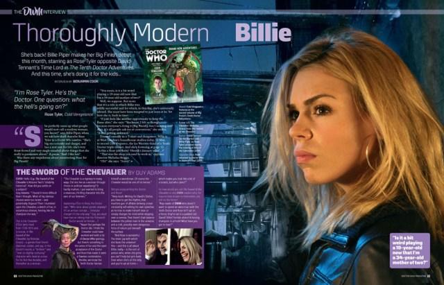 Doctor Who Magazine - Issue 518 - Billie Piper Interview Sneak Peak