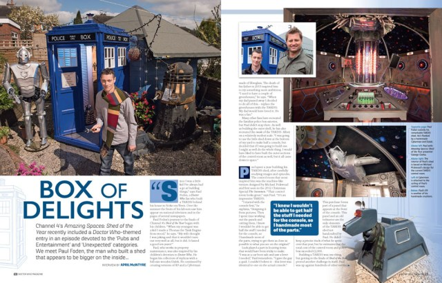 Doctor Who Magazine - Issue 518 - Box of Delights- Sneak Peak