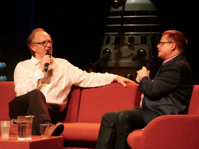 Peter Davison and Martin Parsons - Who's at the Playhouse @ Diane Malkin for Blogtor Who