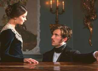 Victoria Series 2 Episode 8 - Jenna Coleman and Tom Hughes - (c) ITV