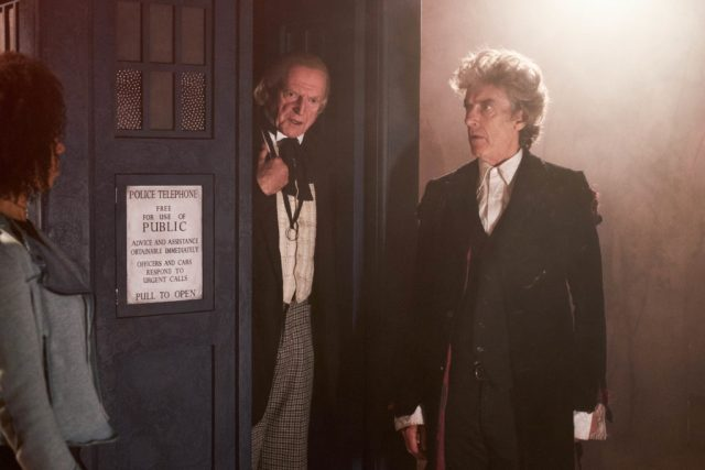 Doctor Who - Twice Upon a Time -  Bill (PEARL MACKIE), The First Doctor (DAVID BRADLEY), The Doctor (PETER CAPALDI) - (C) BBC/BBC Worldwide - Photographer: Simon Ridgway
