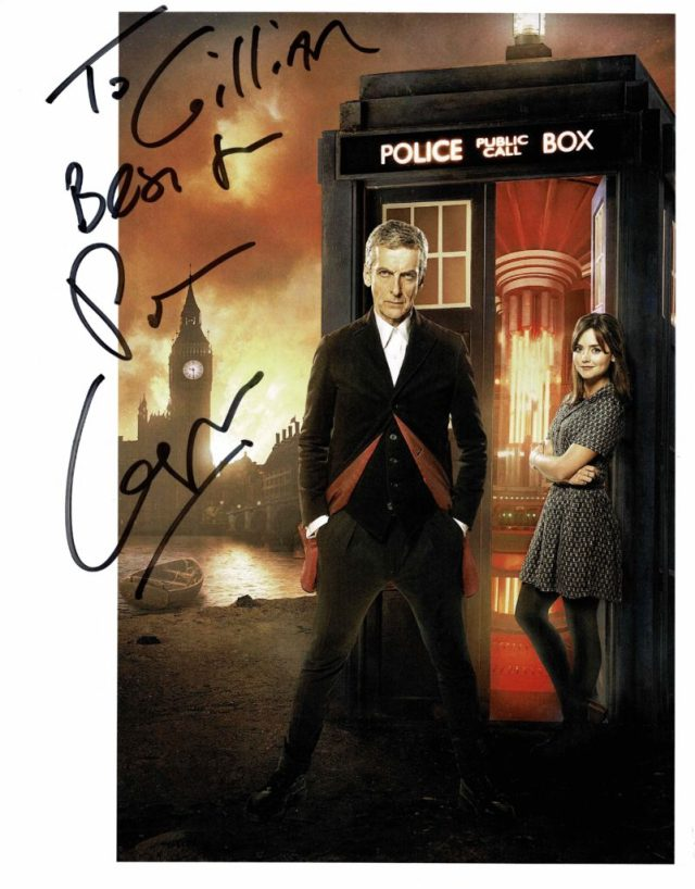 Peter Capaldi Signed