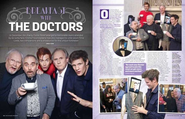 Breakfast with the Doctors DWM Issue 522