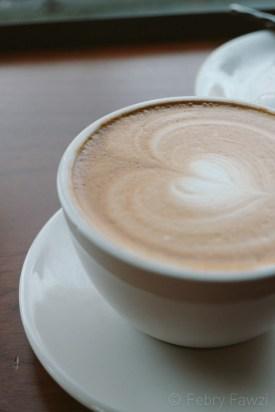 Latte di Storyville Coffee