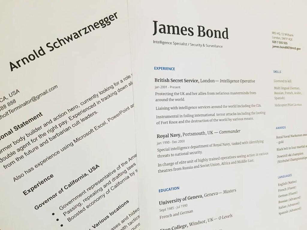 Écrire Un CV Unique et Personnalisé
