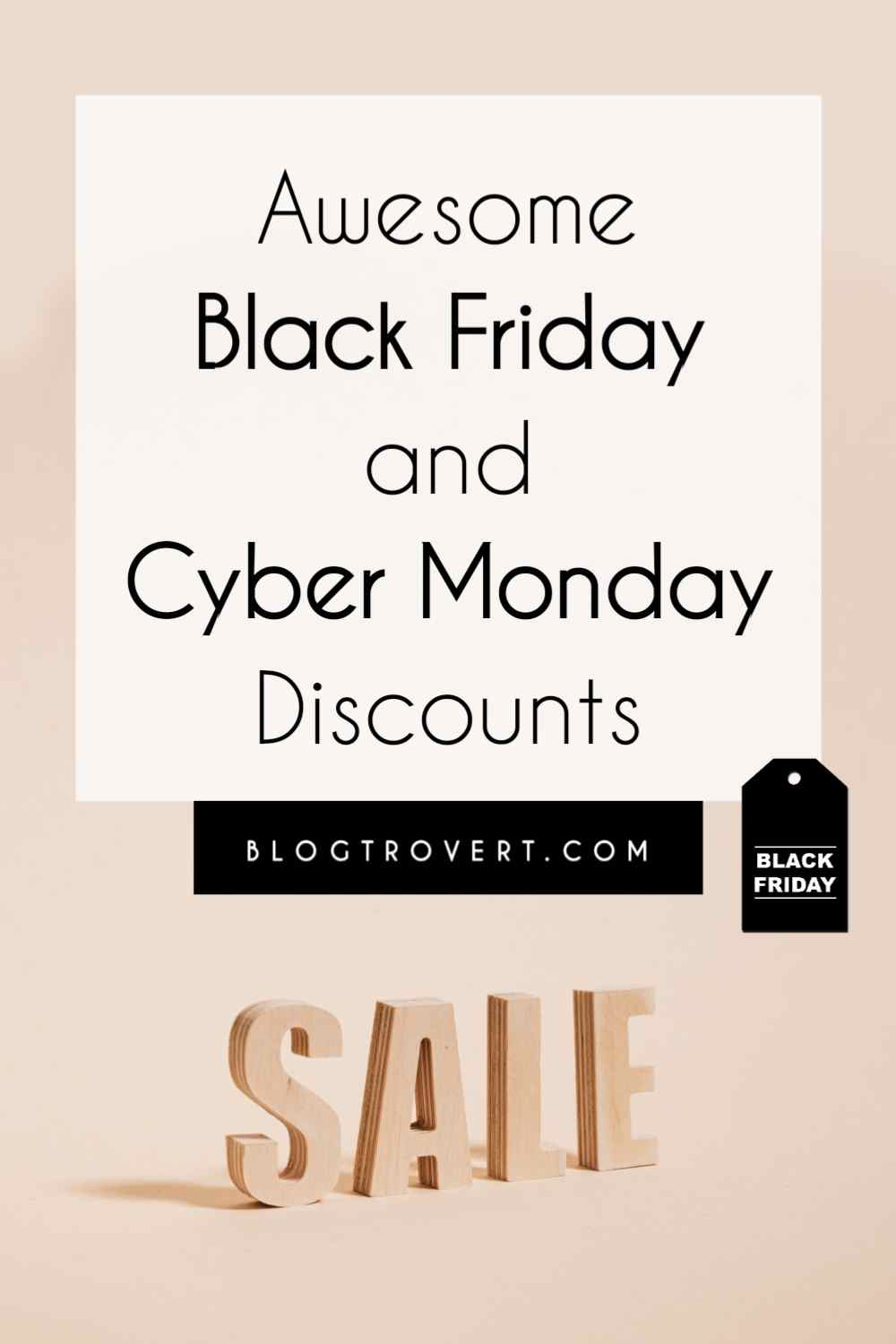 Black Friday and Cyber Monday Sales